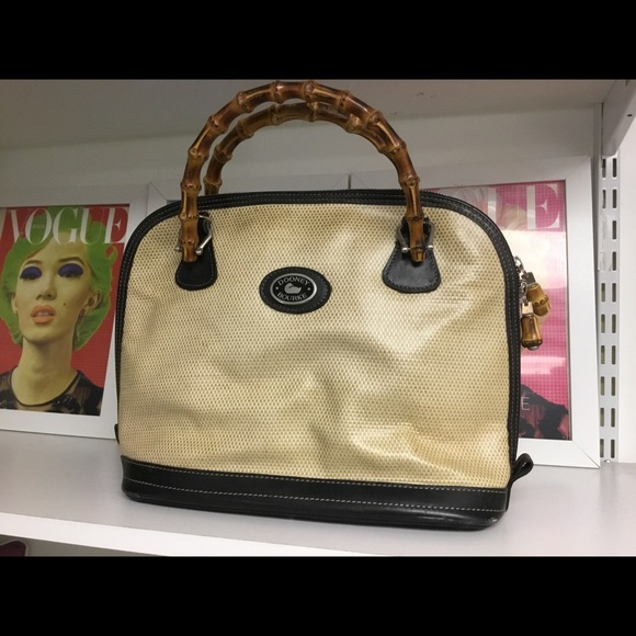 Dooney & Bourke Handbags - Dooney & Bourke bamboo handle tote bag